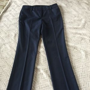 NWOT New York & Company Womens Navy Blue Trousers